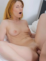 Dirty Ginger Teen Enjoys Nasty Sex With Her New Boyfriend - Picture 9