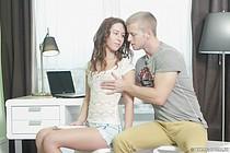 Difícil teenybopper (el vídeo Lesbio de casa, más joven nuevo).